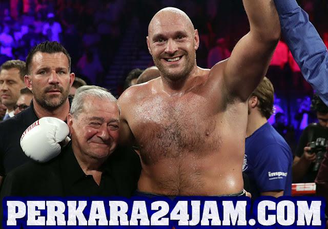 Laga Tyson Fury Vs Deontay, Ibrahimovic Jagokan Tyson Fury Menang