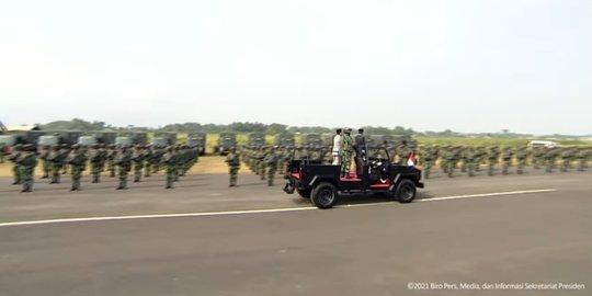 Jokowi Tetapkan Pasukan Komcad: Dikerahkan Jika Negara Darurat Militer