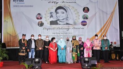 Wabup Agam Hadiri Concert Tribute to Elly Kasim di Padang