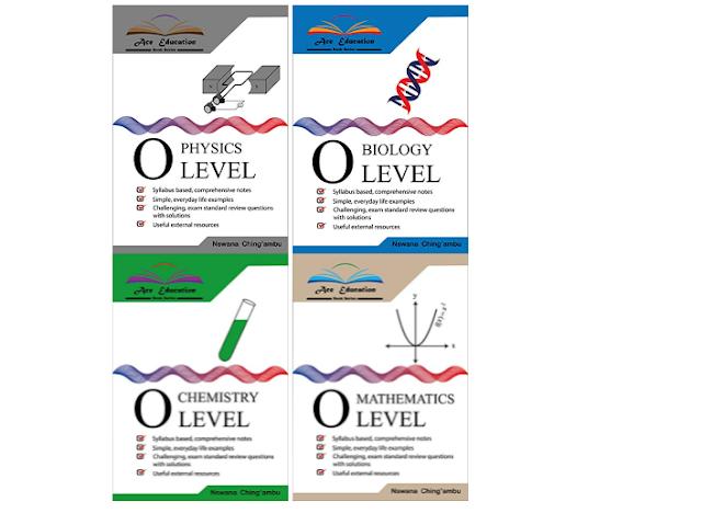 سلسلة كتب التعليم ACE (المستوى O) الفيزياء ، والأحياء ، والكيمياء ، والرياضيات