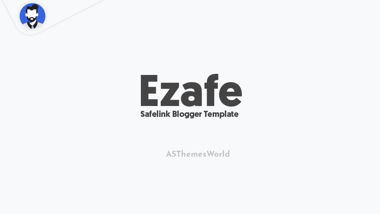 Safelink Blogger Template Free Download