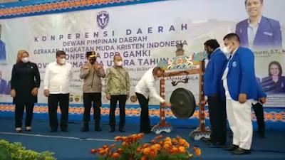 Konferda GAMKI Sumut: Ketua DPC Samosir Berharap Terpilih Pengurus Terbaik