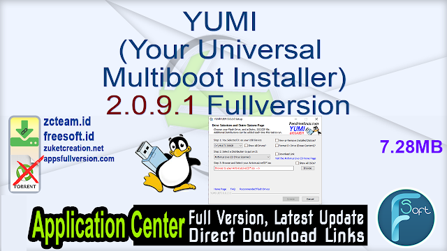 YUMI (Your Universal Multiboot Installer) 2.0.9.1 Fullversion