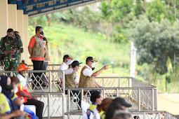 Ganip Warsito Perketat Disiplin Protokol Kesehatan di Stadion Mandala Jayapura