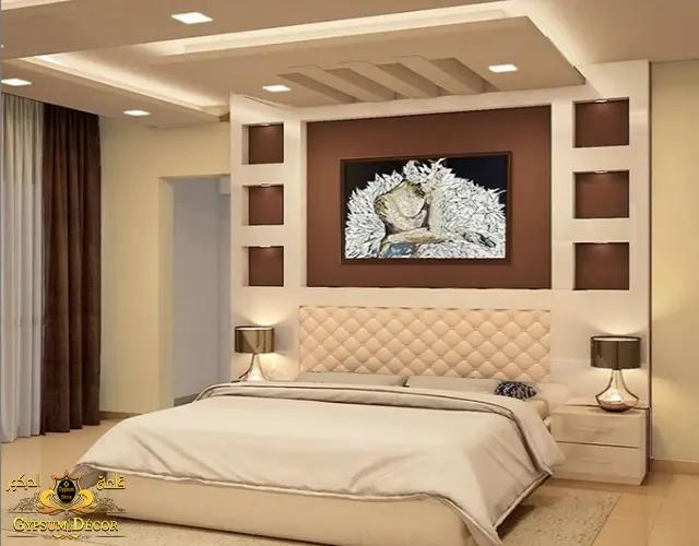 جبس بورد غرف النوم