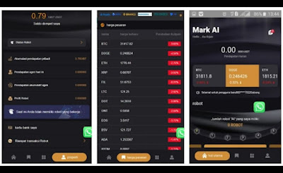 Mark AI APK 6666 Robot Trading Kripto Gratis, Beneran Aman?