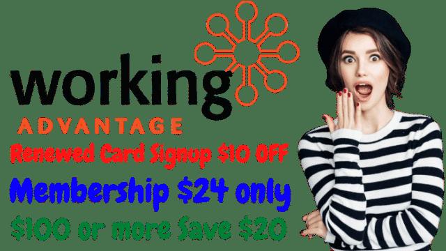 Working Advantage Promo Code - 15% Off w/2022 Discount