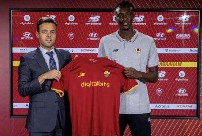 Tammy Abraham Completes €40 Million Roma Move From Chelsea
