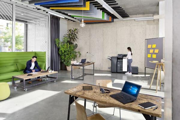 Konica Minolta tem a solução para uma impressão remota, intuitiva, segura e rentável
