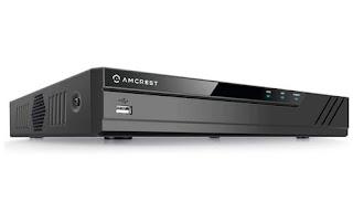 Amcrest NV4108E-HS 4K 8CH POE Network Video Recorder