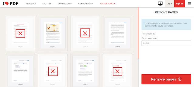 2 Cara Menghapus Halaman PDF yang Tidak Digunakan Secara Online