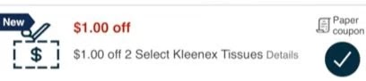 USE $1.00/2 Kleenex CVS Instant Coupon (All CVS Couponers)