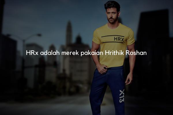 Hrithik Roshan meluncurkan merek pakaiannya HRx