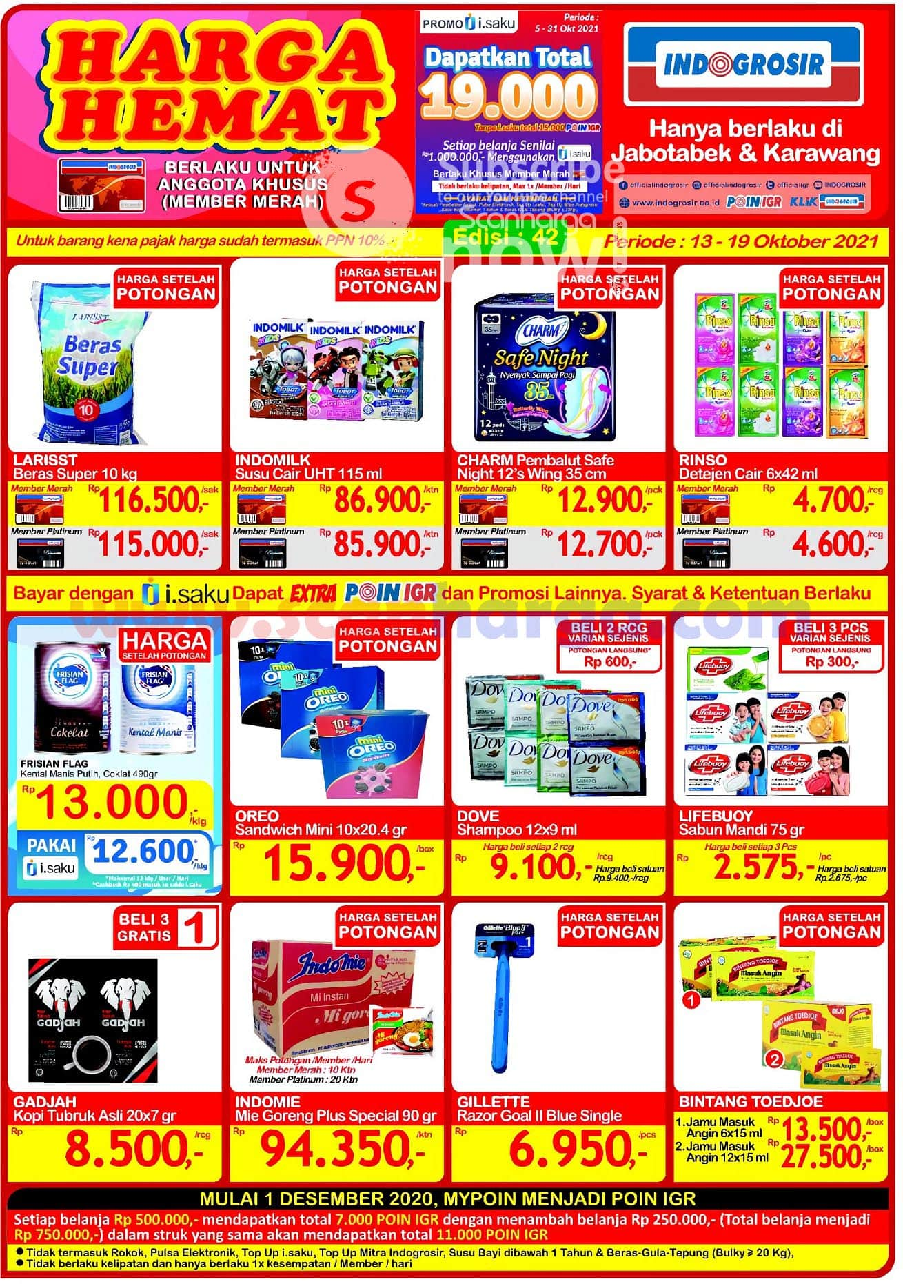 Katalog Promo JSM Indogrosir 13 - 19 Oktober 2021