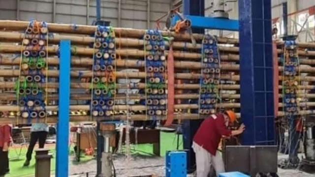 Bikin Geger, Ini Penampakan Bambu yang Dipakai PUPR Buat Jalan Tol