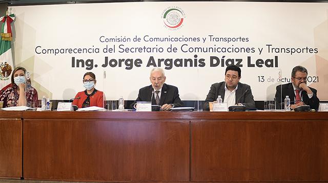 Participa SCT en fortalecimiento de la reactivación económica del país: Arganis Díaz-Leal