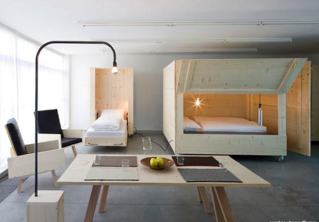 bedroom furniture on wheels