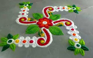Square Rangoli Designs
