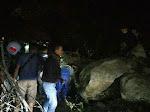 Jalan Lintas Medan-Berastagi Longsor, Mobil Tertimbun Batu, Sejumlah Orang Dikabarkan Tewas