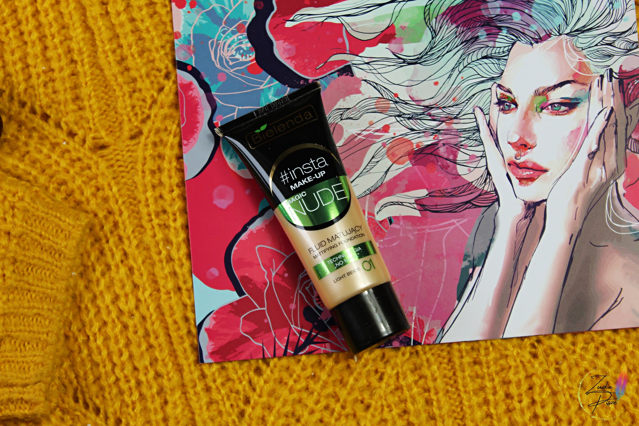 BIELENDA #Insta Make-up Magic Nude - podkład matujący