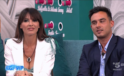 Miriana Trevisan e Nicola foto Grande Fratello Vip 11 ottobre