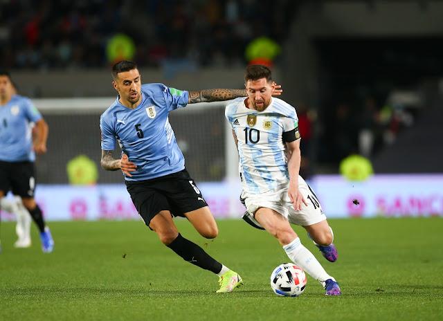 ملخص واهداف مباراة الارجنتين واوروجواي (3-0) تصفيات كاس العالم