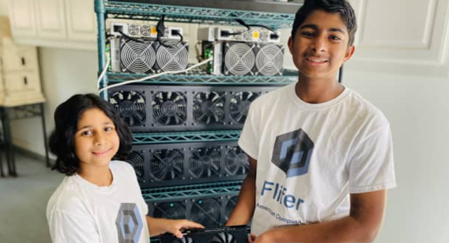 Kids Earn More Than $30,000 a Month from Mining Cryptocurrency