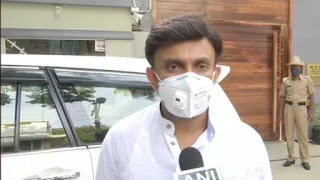 Karnataka health Minister, Dr K Sudhakar