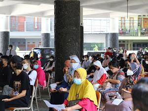 Ejawantah Spirit Al-Maun, Muhammadiyah Kota Bandung Laksanakan Vaksinasi Massal!