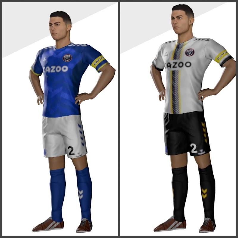 Kit Everton 2022 & Logo Dream League Soccer