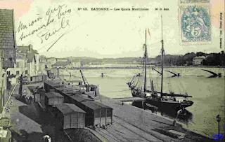 bayonne quais port
