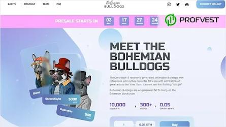 Bohemian-Bulldogs.com: обзор и отзывы NFT-проекта