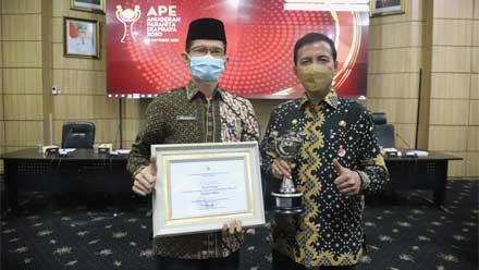 Pemko Padang Raih APE 2020 Tingkat Madya