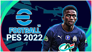Download eFootball PES 2022 PPSSPP Bamba Dieng Edition Original Camera PS5 & New Kits Best Graphics