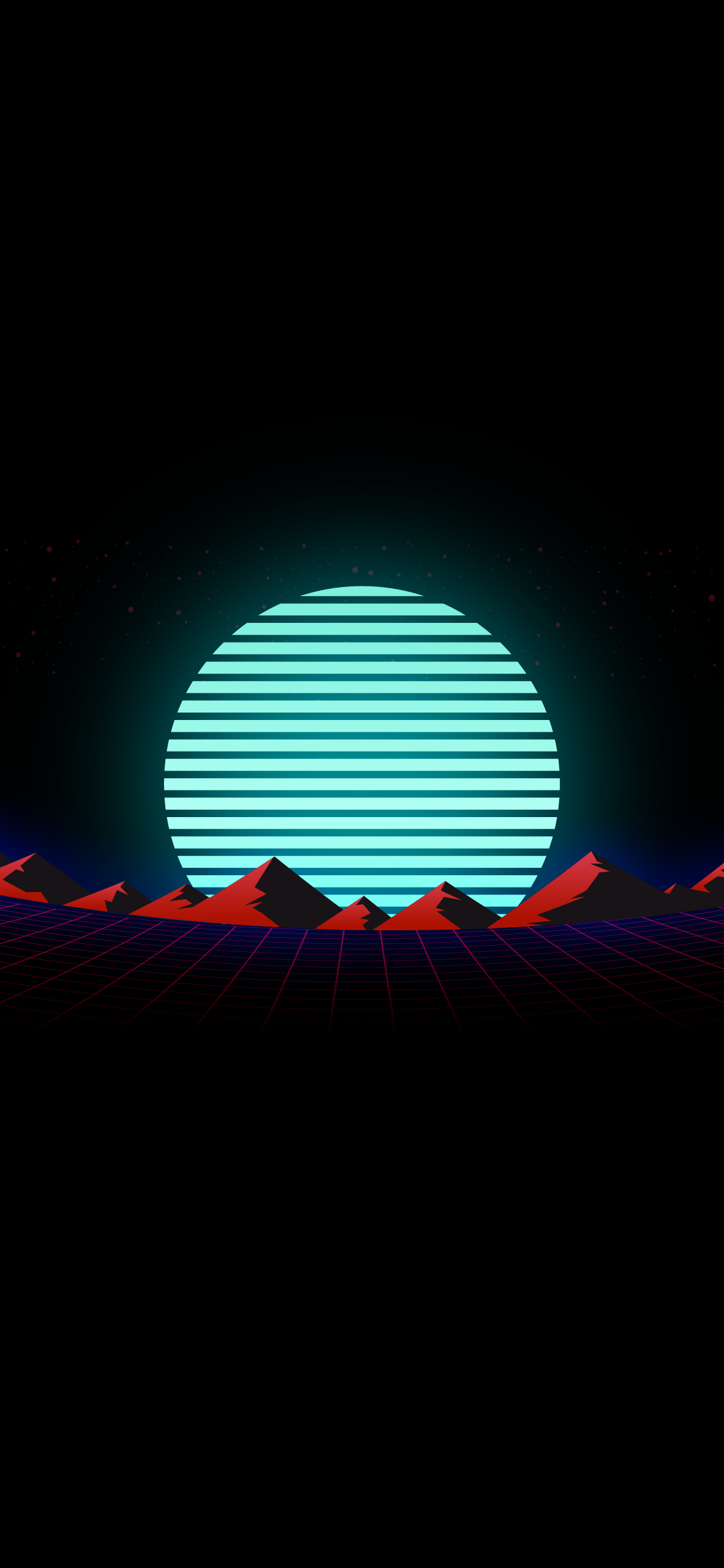 retrowave synthwave synth outrun oled amoled black