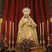 En imágenes, los cultos en honor a Nuestra Señora del Rosario