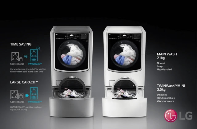 LG Twin Wash Technology