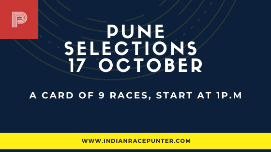 Pune Race Selections 17 October