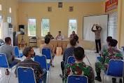 Kapolsek Pontang Hadiri Rapat Penyerahan Surat Panggilan dari PPK ke PPD Desa se-Kecamatan Lebakwangi