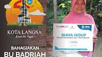Badriah Mendapat Santunan Biaya Hidup Da'i Dari ACT Langsa