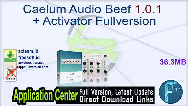 Caelum Audio Beef 1.0.1 + Activator Fullversion
