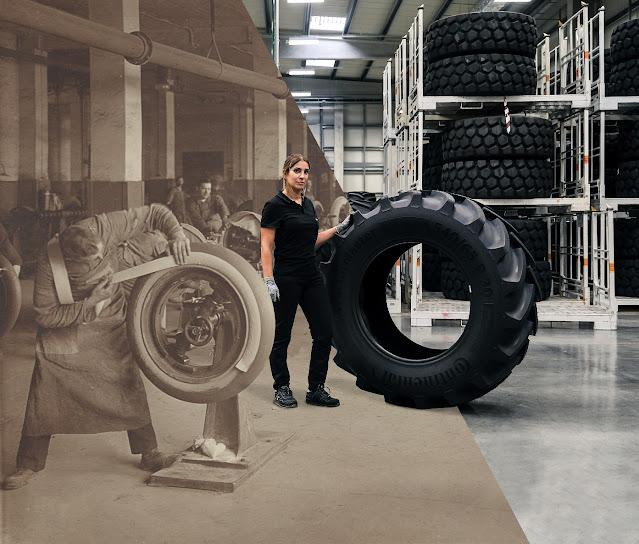 كونتيننتال 150 سنة في تصنيع الإطارات