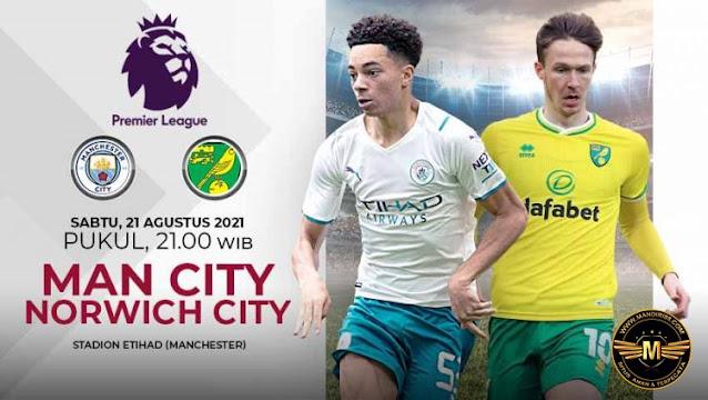 Prediksi Manchester City Vs Norwich City