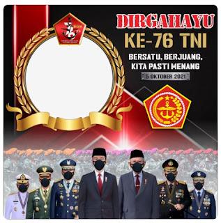 twibbon selamat hari TNI ke 76 - kanalmu
