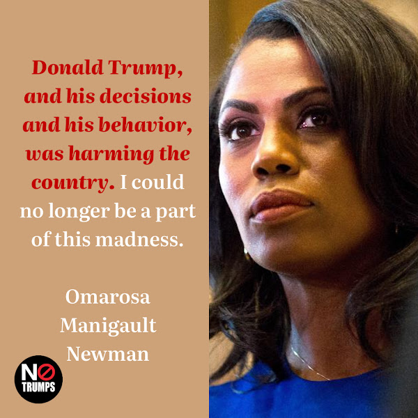 Donald Trump, and his decisions and his behavior, was harming the country. I could no longer be a part of this madness. — Omarosa Manigault Newman