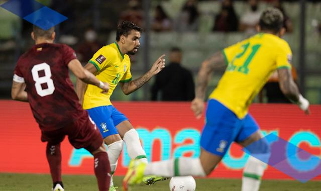 ملخص اهداف مباراة البرازيل وفنزويلا (3-1) تصفيات كاس العالم