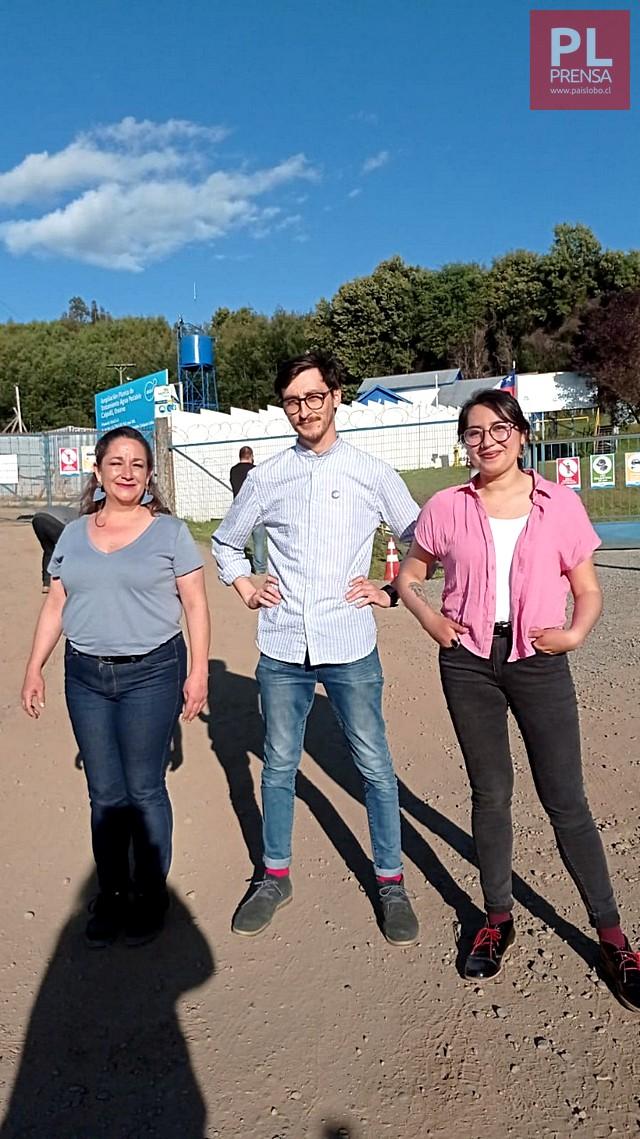 Fernanda Herrera, Alex Hernández y Daniela Carvacho