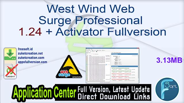 West Wind Web Surge Professional 1.24 + Activator Fullversion