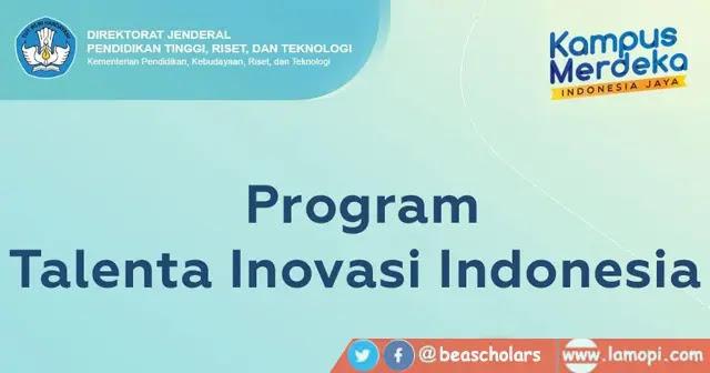 Program Talenta Inovasi 2021
