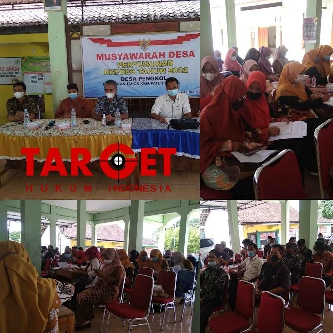 Haryono AM.d : Penyusunan RKPDES Tahun 2022 Desa Pengkol Kec. Tanon Kab. Sragen
